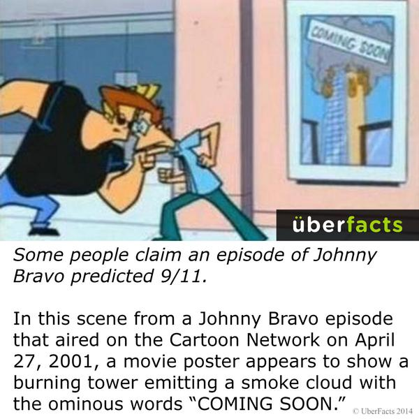 Uberfacts On Twitter Some People Claim An Episode Of Johnny Bravo