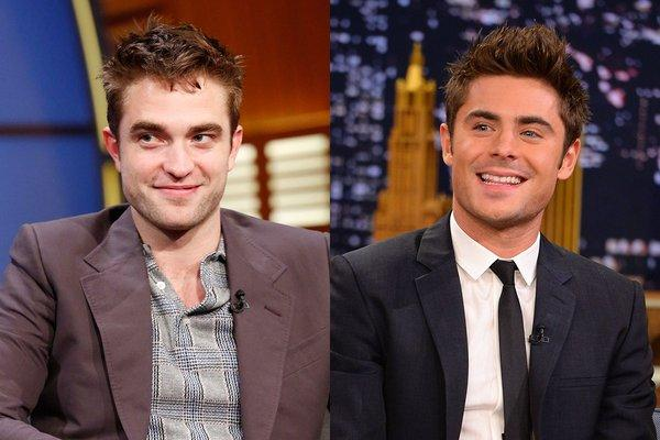 Zac Efron and Robert Pattinson tried to out-scruff each other: http://t.co/osx565zoxP http://t.co/pjFZYsYs0y