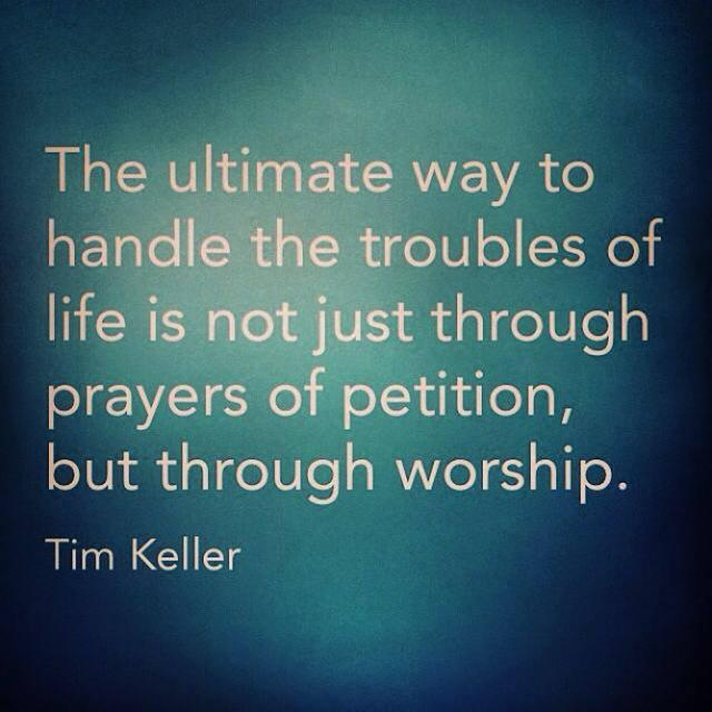 Twitter / BillReichart: Tim Keller #quote on #suffering ...
