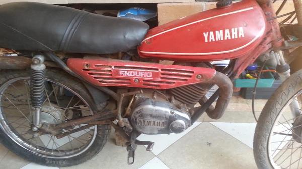 1979 Yamaha 100 enduro Manual