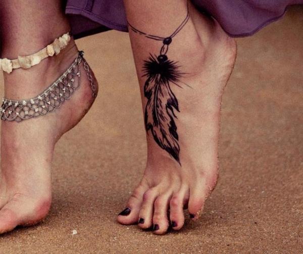 Beauty Queen On Twitter Leaf Foot Mehndi Design Henna Tattoo