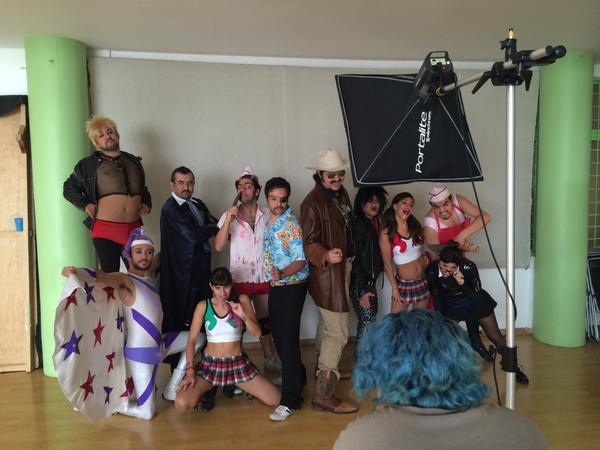 La temporada 2014 de @LaImproLucha está por comenzar, ¡SONRÍAN! @teatro_milan @LosSinCara @elpulmonias @ELDienteDOro http://t.co/v6L0st5pnp