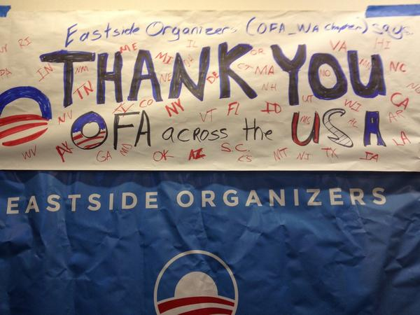 Thank you @OFA volunteers across the country help pass Universal Background Checks on all gun sales in Wa. #YesOn594 http://t.co/mDIwVRRkMq