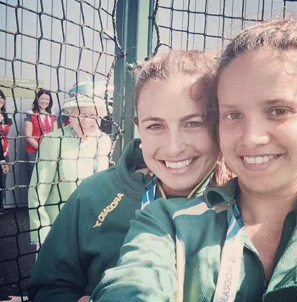 Surely the best photobomb ever? #CommonwealthGames http://t.co/XVNUPsZF1S