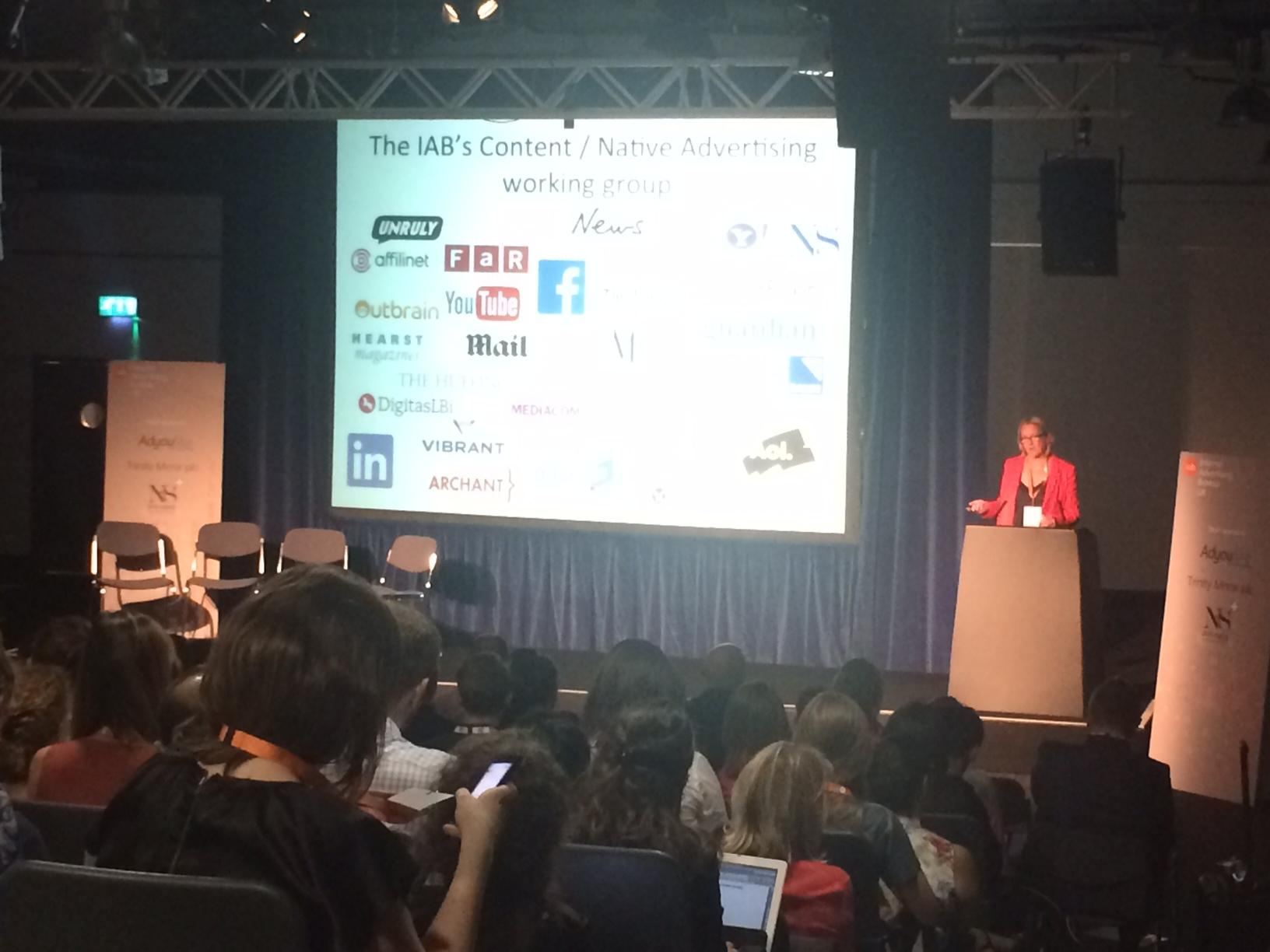 Big crowds at the @IABUK's first content marketing conference today in London. @clareob gets things started #iabuk http://t.co/8DUBOLgpme