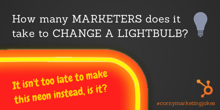 Twitter / HubSpot: How many marketers does it ...