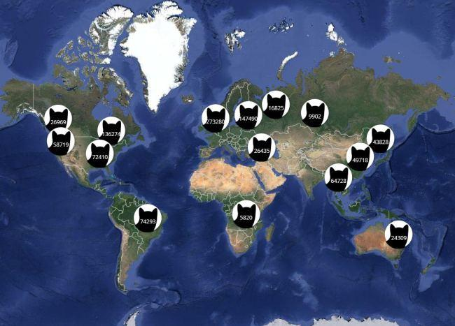 Proof that cats are taking over social media (and the world) http://t.co/yfOBcv910U http://t.co/uljT73KwaU