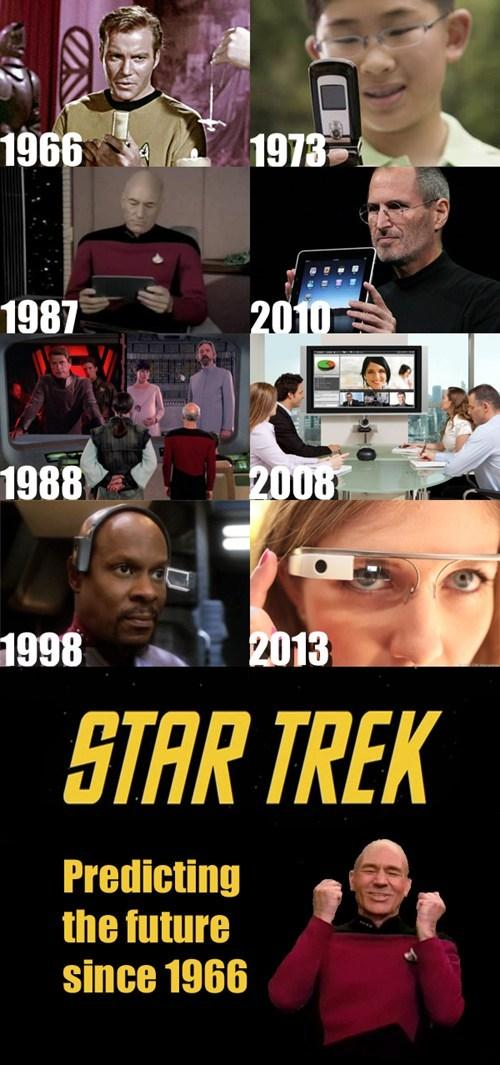 Star Trek : Predicting the future since 1980 http://t.co/HwbRXNxfrE