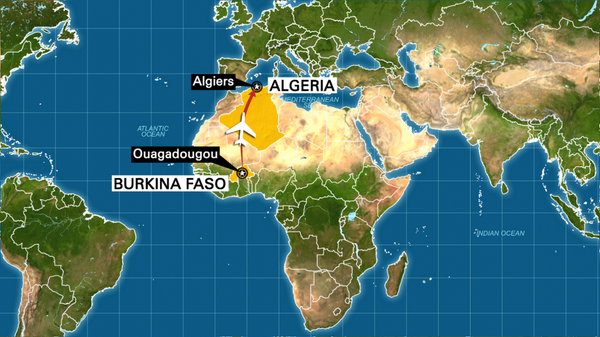 Breaking News: 110 passengers, 6 crew on Air Algerie flight #AH5017 that disappeared between Burkina Faso & Algeria. http://t.co/xFXhoVy3R8