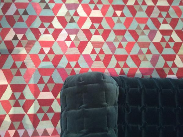 Ligne Roset Uk On Twitter Our New Hex Rug Designed By Bertjan Pot Himandthem Just Reached Lignerosetwe Geometric Kilim Tangram