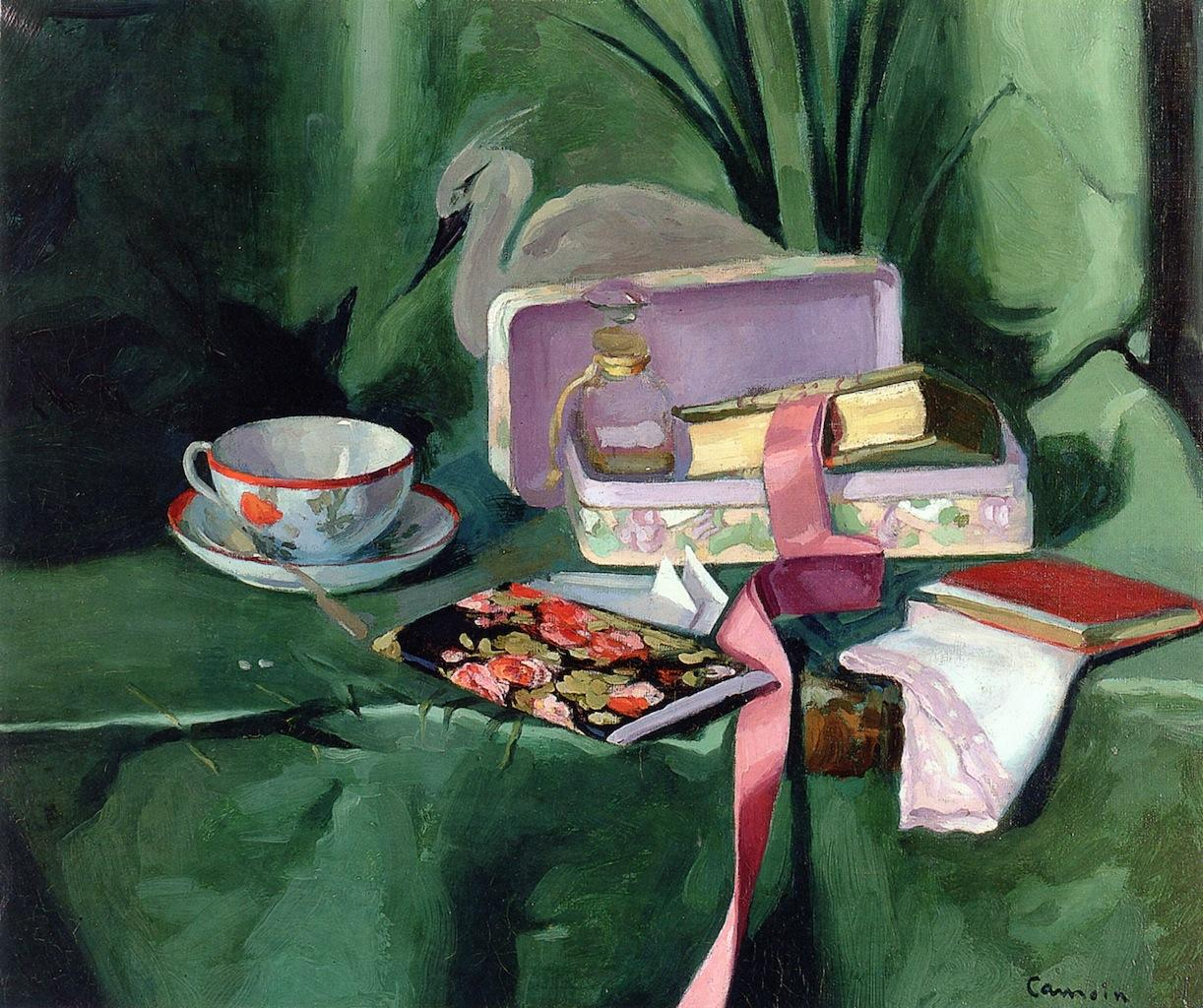 Still LIfe with a Chinese Cup