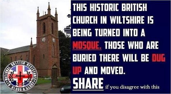 Αποτέλεσμα εικόνας για UK church transformed into mosque