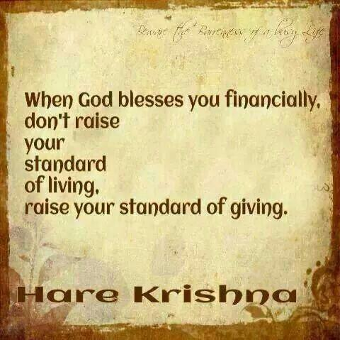 Twitter / JoyAndLife: When you are financially blessed ...