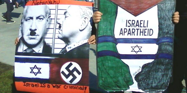 TRUTH HURTS RT @ADL_National: When you compare Israel to Nazis, that's not protesting #Israel. -> #thatsAntiSemitism http://t.co/w3Ihgew209