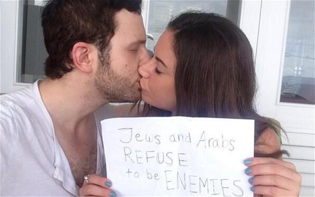 RT @Telegraph: 'Jews and Arabs refuse to be enemies': couples take to social media to prove peace is possible http://t.co/8V6Xq1BbYP http:/…