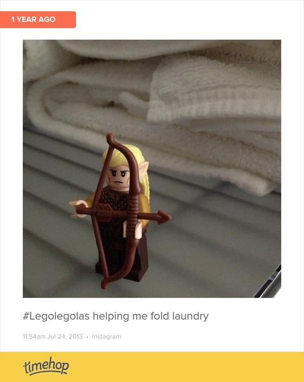 legolegolas hashtag on Twitter