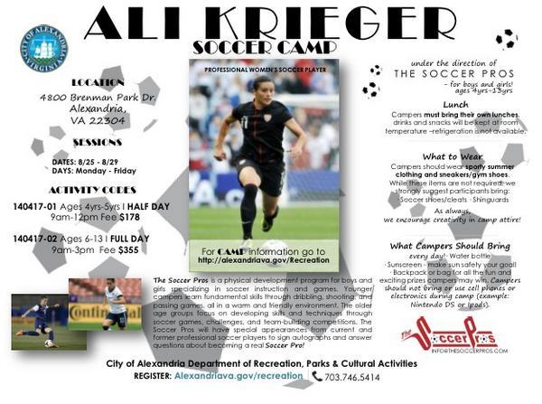 Ali Krieger on Twitter: