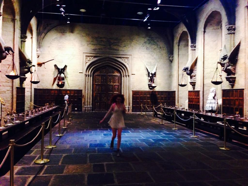 Free range in the great hall! http://t.co/FpZHTwP9NQ