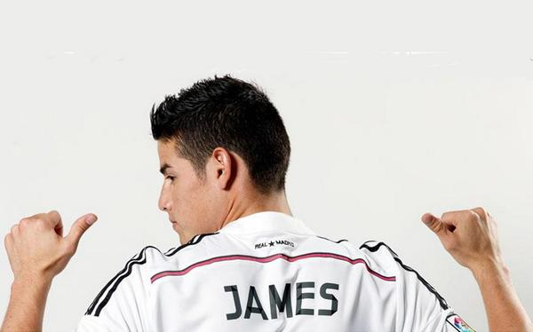 El Real Madrid factura 20 millones € con la camiseta de James en 48 horas