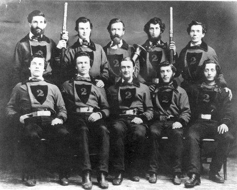 In the 1860s, the Portland firefighters looked like the Portland hipsters of 2014. #throwbackthursday http://t.co/Aa6qJepDd8