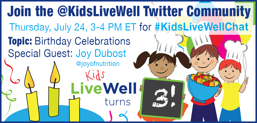 Twitter / KidsLiveWell: 20 minutes until ...