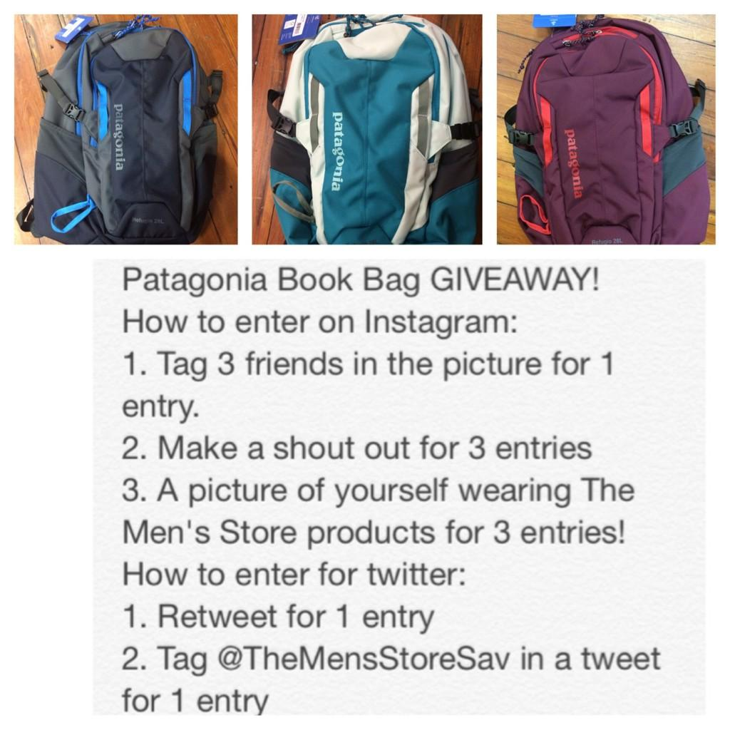Josephs Clothiers On Twitter Free Patagonia Book Bag Giveaway Who Needs A New For School Or College Rules Are Picture