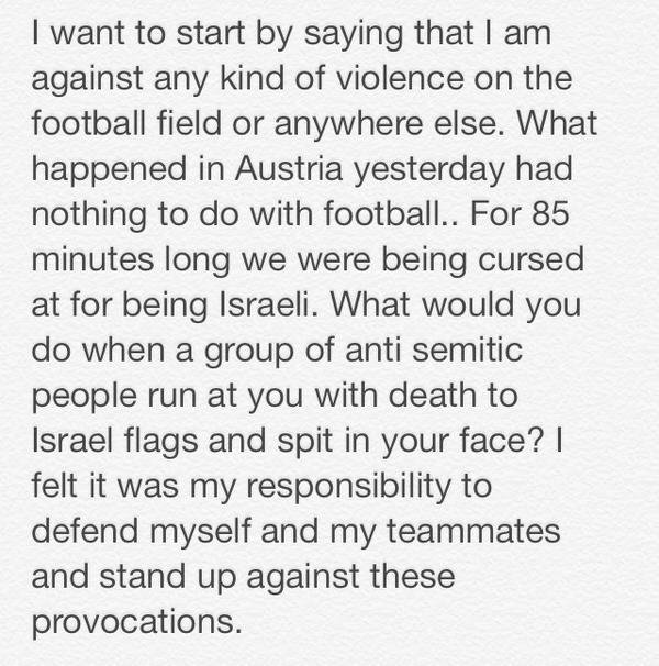 Proud Israeli! http://t.co/LkCaITc3yJ