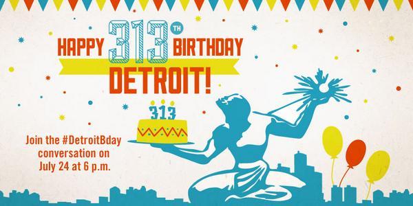 Thumbnail for Visit Detroit: Celebrating Detroit's 313th Birthday