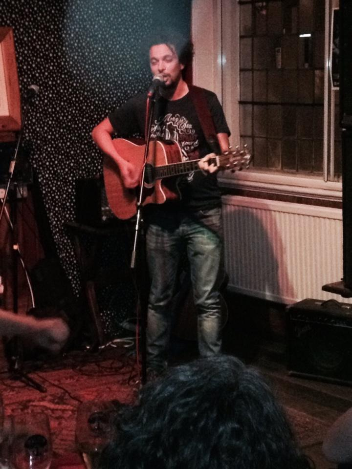 Elliot Mason at Morden Arms, Greenwich. 24th July 2014
