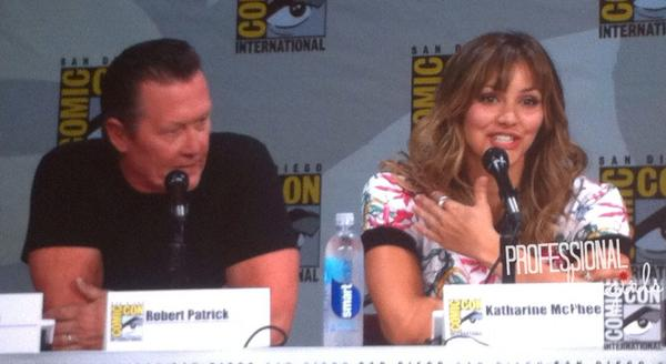 Amazed at the pilot of @CBS's #Scorpion with #RobertPatrick & #KatharincPhee. It's a #mustsee #fangirlSDCC #SDCC http://t.co/VVpzmOCkG4