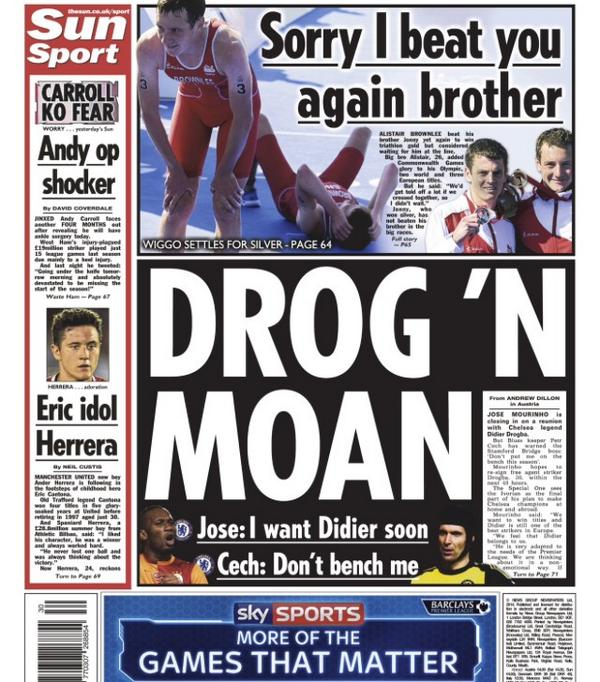Jose Mourinho wants Didier Drogba at Chelsea soon [Sun]