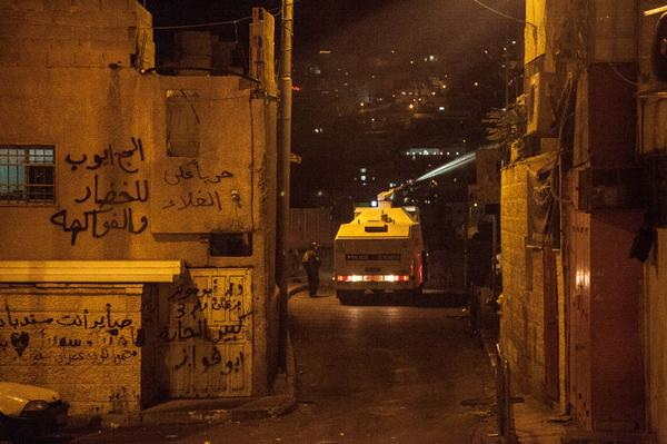 "Israeli police is now using the ""skunk"" (pungent water cannon) on houses in Silwan, East Jerusalem http://t.co/gzX3j6QgzW via @nirhasson"
