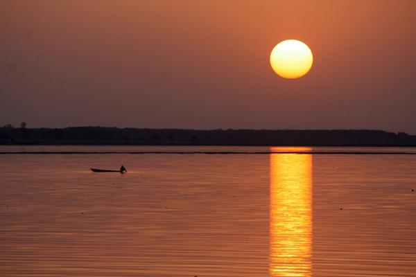 Sunset on Upper Lake by DeepakAmembal http://t.co/iCccC8WgWh