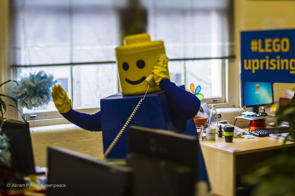 Twitter / GreenpeaceAustP: Hello this is LEGO. OMG, WTF, ...