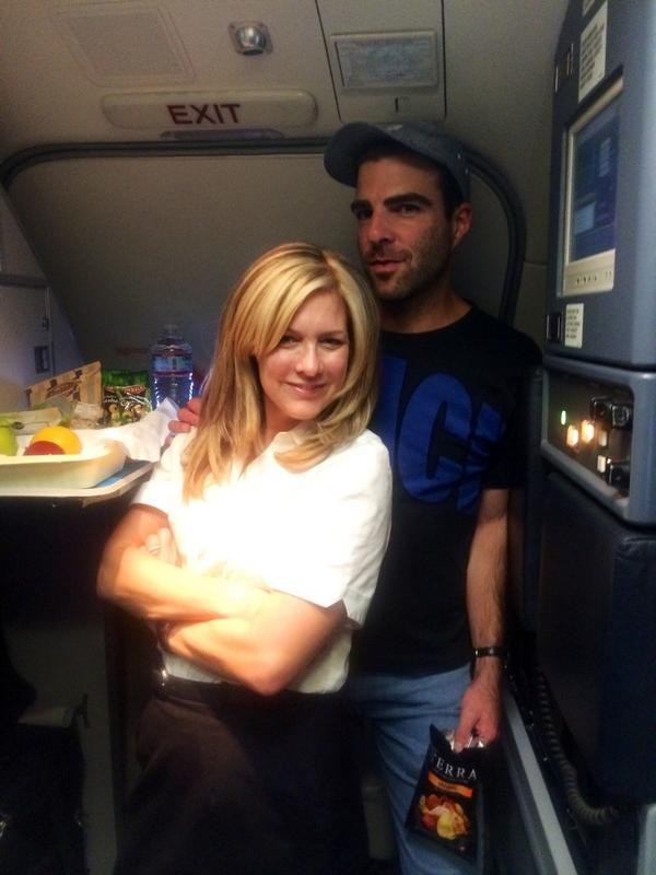 JFK-SAN: Oh just hanging with @ZacharyQuinto http://t.co/dBXmrhw5hN