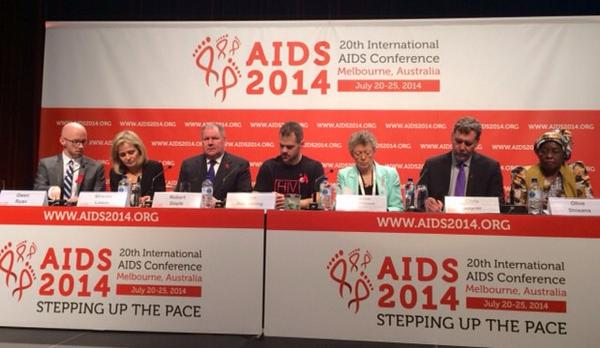 #AIDS2014 closing flanked by our own Sharon Lewin, what a dynamo - and Nobel laureate Francoise Barre-Sinoussi http://t.co/MjfQWHWC32