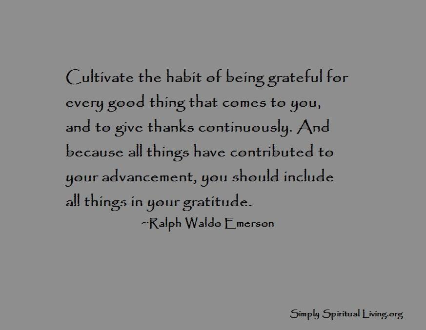 Twitter / JoyAndLife: Cultivate the habit of being ...