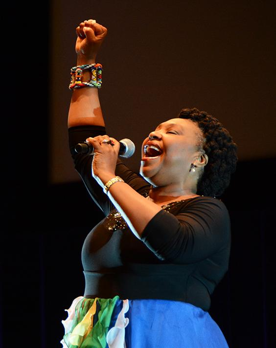 South Africa's Yvonne Chaka Chaka reminding us that we are all equal https://t.co/BcAzw1ke5x #AIDS2014 http://t.co/Flt2vFWa4z