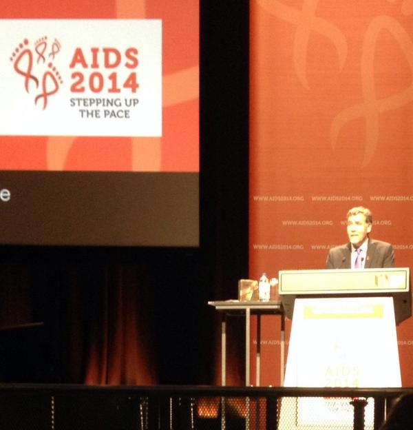 #AIDS2014 Chris Beyrer - 1st gay president of International #AIDS Society #IAS #HIV http://t.co/AuAQh89lMX
