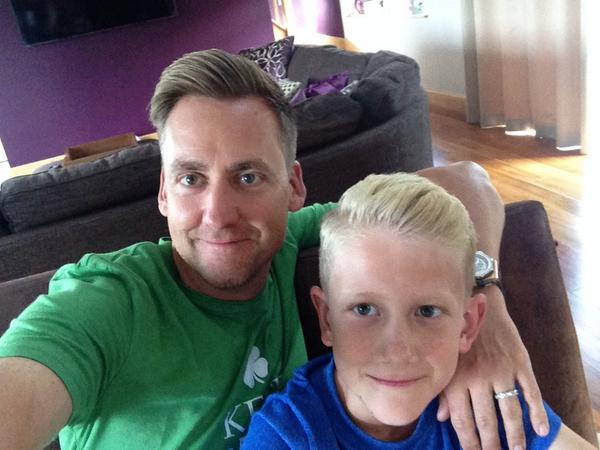 Ian Poulter On Twitter Father Like Son Haircuts Http T Co Haohu5g7o5