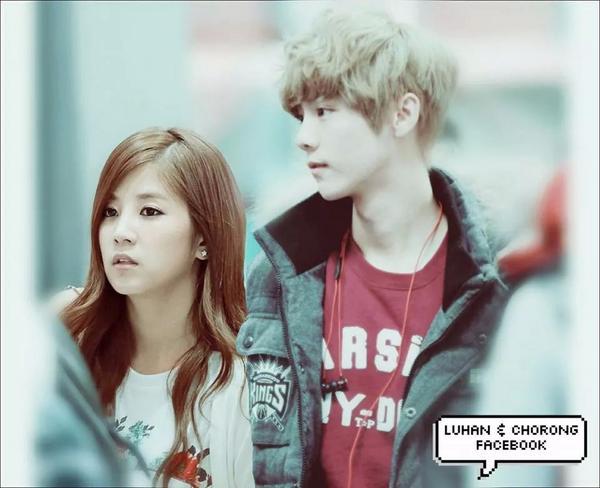 Chorong and luhan dating