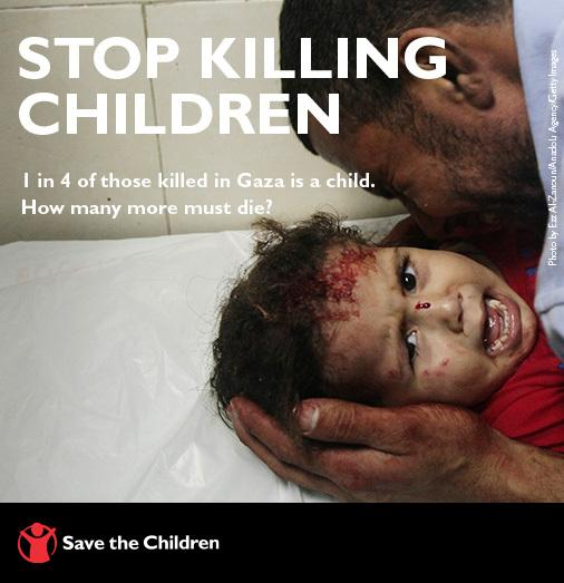 Join me & help #savethechildren before more are killed: sign the petition now. http://t.co/nvdsWJCgi0 #Gaza #Israel http://t.co/NgNL4kaIoZ