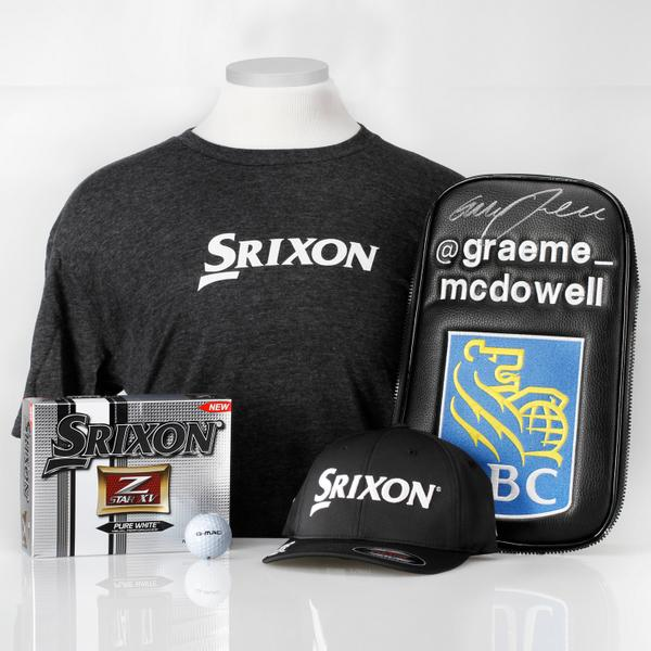 Want a prize pack from @Graeme_McDowell? RT this tweet and follow @SrixonGolf and @si_golf for a chance to win. http://t.co/0mP6IB3EAk