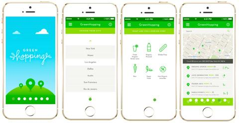 This new app helps you find the closest green juice: http://t.co/FNg8NytURt @GreenHoppingApp http://t.co/ISYnkMg2FV