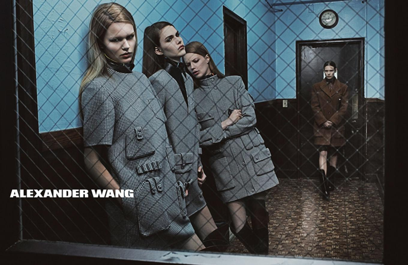 Bad girls do it well in @AlexanderWangNY's brand new fall campaign: http://t.co/IUvqefyA9F http://t.co/GEFC2JHjej