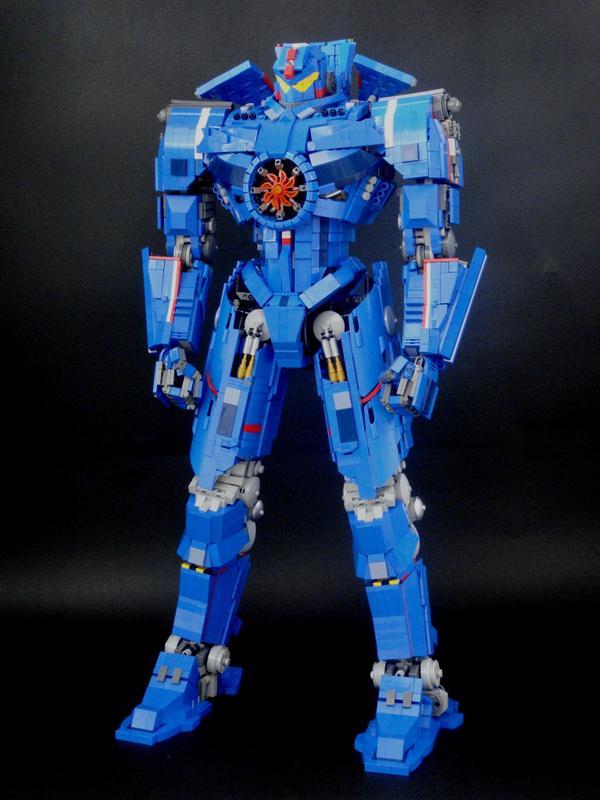 レゴでパシフィック・リムに登場する巨大ロボ、ジプシー・デンジャーを組んでみました!全高68㎝、重さ3.5kgです。ブログも更新しました!blog.livedoor.jp/jan_utyo/archi… pic.twitter.com/bS0Pu3Znaz