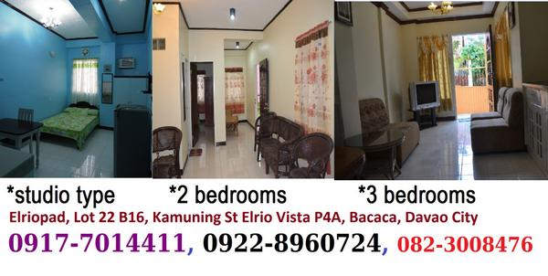 For Rent Davao Elrio