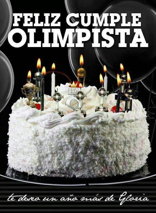 Feliz cumpleanos amigo olimpista