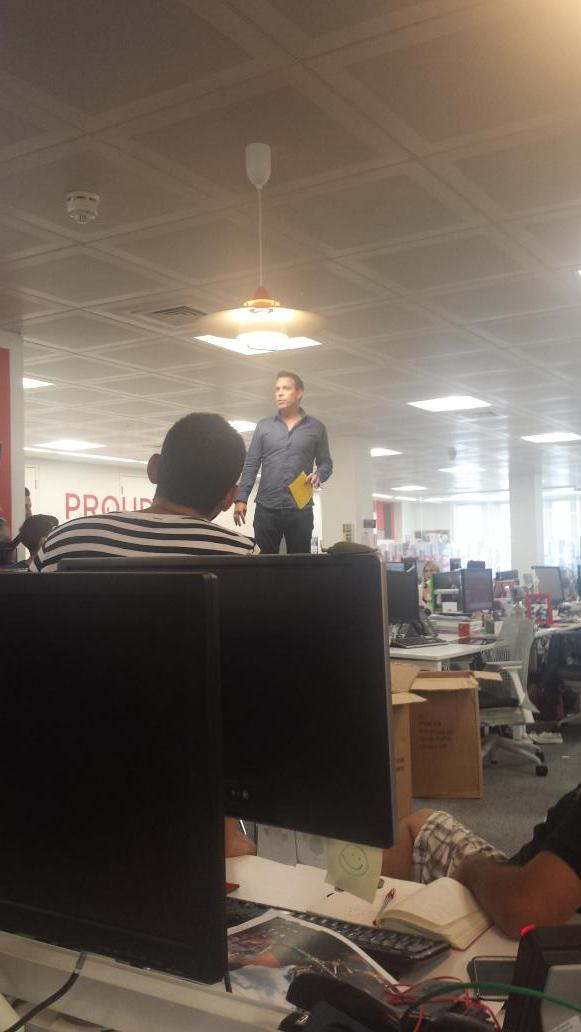 RT @martina_lacey: @Paul_Framp kicking off wine o'clock @HavasMediaUK http://t.co/yN6eTdUhN4