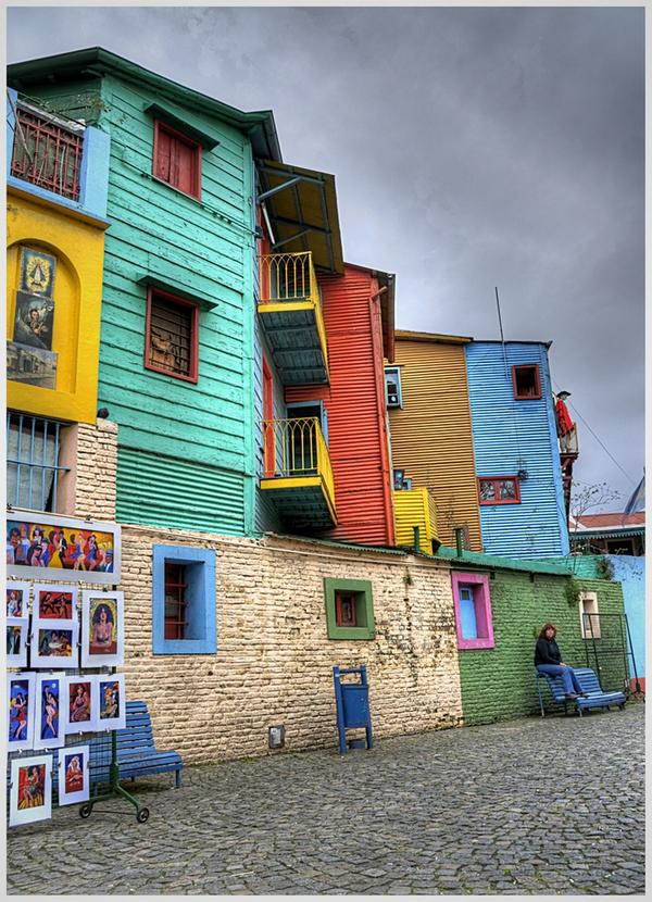 If you need more color in your life venture through Barrio de La Boca in Argentina #photo by Daniel Vercelli #ttot http://t.co/ctrzplgFes
